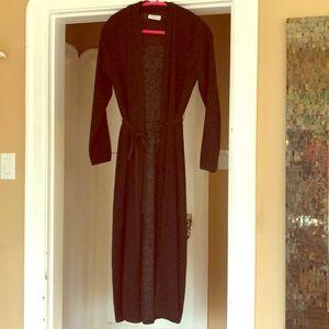New condition Babaton long cardigan/robe